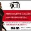 Presentazione collezione moda Rich Italia