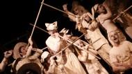 """Il Teatro Finestra al """"Festival Mondiale del Teatro"""", nel Principato di Monaco."""