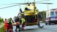 Terribile incidente su via Campoleone