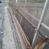 Pontina: rischio crollo della recinzione di un cavalcavia