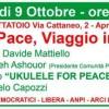 """Parte la rassegna """"Ottobre di Pace"""""""