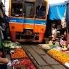 L'incredibile Maeklong Railway Market