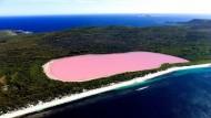 Lake Hillier, il misterioso lago rosa