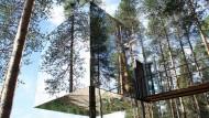 Dormire sugli alberi? Treehotel!
