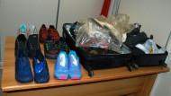 Sette chili di cocaina nelle scarpe