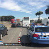 Incidente sulla Pontina, code a Castel Romano