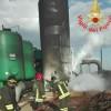Incendio a Carano: danneggiato l'impianto di rimozione dell'arsenico