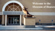 """Il Museo delle """"Bufale"""" a San Diego"""