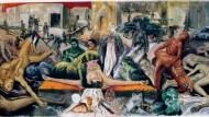 """Un imponente dipinto di Guadagnuolo, per invocare """"Pace"""" in Medio Oriente"""