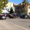 Incidente a Via Ugo la Malfa, auto ribaltata