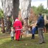 Babbo Natale ritira le letterine dei bambini al Quartiere Agroverde