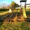 Il parco giochi di Via Selciatella ancora senza manutenzione