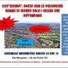 """Domani nuovo incontro pubblico """"No discarica"""" in Via dei Rutuli"""