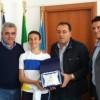Il giovane Nicolò premiato dal Sindaco. Anche il Presidente della Regione lo vuole incontrare