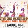 """""""Festival delle orchestre pontine, memorial Di Gioia"""" il 3 e il 4 maggio"""