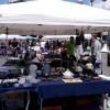 Il sole bacia il mercatino della terza domenica