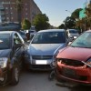Incidente in Via De Gasperi: tre auto coinvolte, nessun ferito