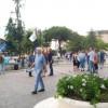 La Lega in piazza alla vigilia della chiusura della campagna elettorale