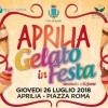 Gelato in festa: tra pochi giorni seconda edizione della festa del gelato artigianale apriliano