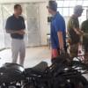 I vice direttori del cimitero americano di Nettuno in visita alla Tenuta Calissoni-Bulgari