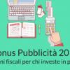 Arriva il Bonus Pubblicità per la promozione su SferaMagazine.it