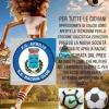Locandina di calcio sessista, Beatrice Brignone contro la Fc Aprilia Racing Club