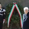 Il Presidente Mattarella commemora il 75esimo anniversario delle Fosse Ardeatine