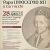 Quando Papa Innocenzo XII sostò nelle campagne apriliane. La rievocazione storica