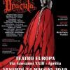 """Al Teatro Europa di Aprilia appuntamento con lo spettacolo """"Dracula""""."""