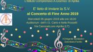 5 Giugno, Concerto di fine anno dell'I.C. A. Gramsci.