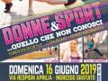 """Prima edizione """"Festa dello Sport Femminile"""" ad Aprilia"""