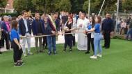 """Inaugurato il Campetto da Calcio presso """"Maria Madre della Chiesa""""."""