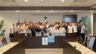 Il Sindaco ha ricevuto gli Juniores FC Aprilia Racing Club