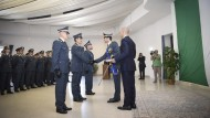 Celebrazioni per il 245° anniversario di fondazione della Guardia di Finanza.