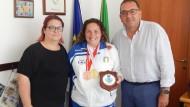 Il Maestro campione del mondo a Bratislava, ricevuto in Comune.