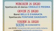 Festa di Sant'Anna a Pontinia: le iniziative dal 24 al 28 luglio.