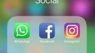 Whatsapp, Instagram e Facebook fuori uso: niente audio e foto.