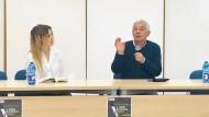 """Ieri la presentazione del libro """"Il padrino dell'antimafia"""" di Attilio Bolzoni."""