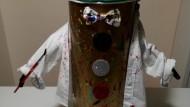 'Arte in classe' di Guadagnuolo lancia il primo robot umanitario.