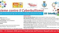 Domani all'I.C. Rosselli le scuole apriliane insieme contro il cyberbullismo.