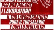 """Sinistra Anticapitalista Aprilia, via alla campagna """"contro il lavoro gratuito""""."""