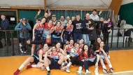 Le ragazze della Virtus Basket vincono e salgono al secondo posto.