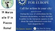"""""""One hour for Europe"""": l'iniziativa di RiGenerazione Apriliana."""