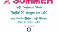XSummer: martedì 30 giugno la presentazione a Latina.