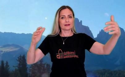 Liberi Cantores: l'omaggio ai monti nel video realizzato dal coro di Aprilia.