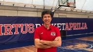Virtus Basket Aprilia: rinnovato l'accordo con il Coach Rubinetti.