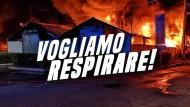 """""""No ai roghi tossici"""": oggi la manifestazione a Pomezia."""