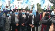 Sinistra Anticapitalista dalla parte dei lavoratori che hanno scioperato ieri a Latina.
