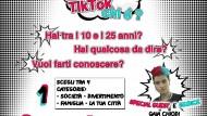 """Aprilia, via al concorso social """"TikTok Chi è?"""" dedicato ai giovani."""