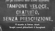 Regione Lazio: tampone gratuito e senza prescrizione per gli studenti.